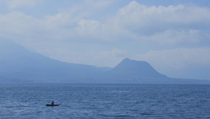 Boat Fishing on Atitlan
