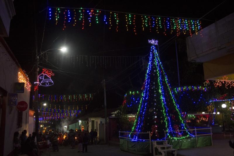 Christmas Lights in San Juan