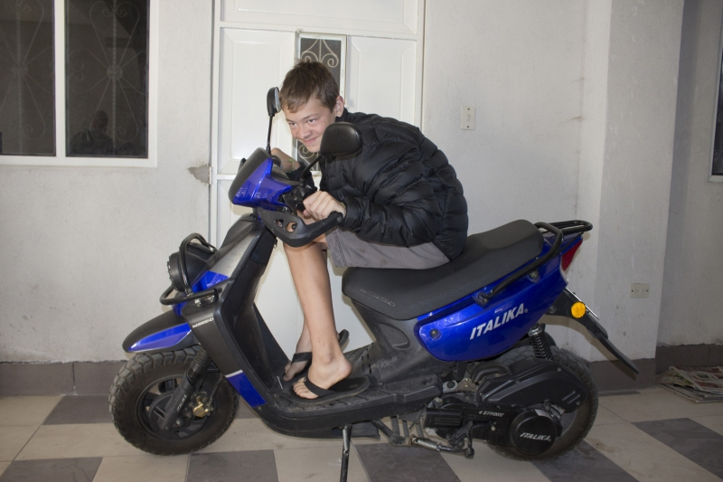 Jack on Scooter_1