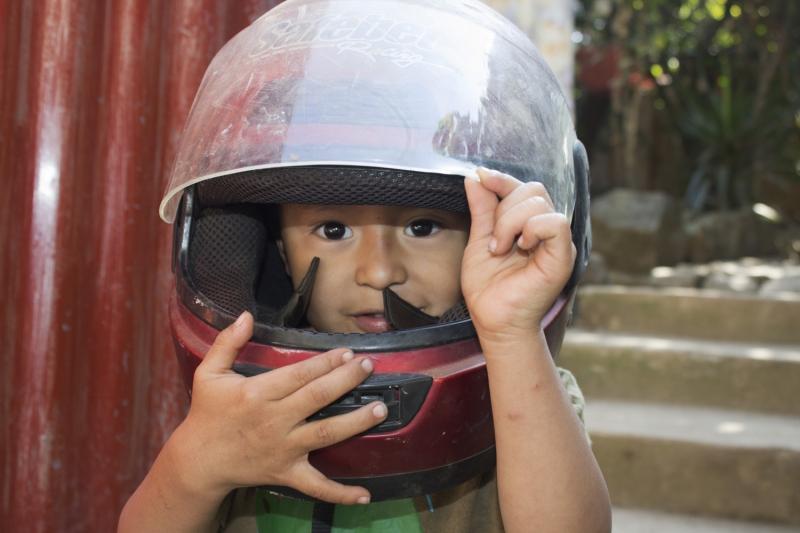 Pedro Anthonio With The Helmet_1