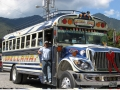 Guate Chicken Bus