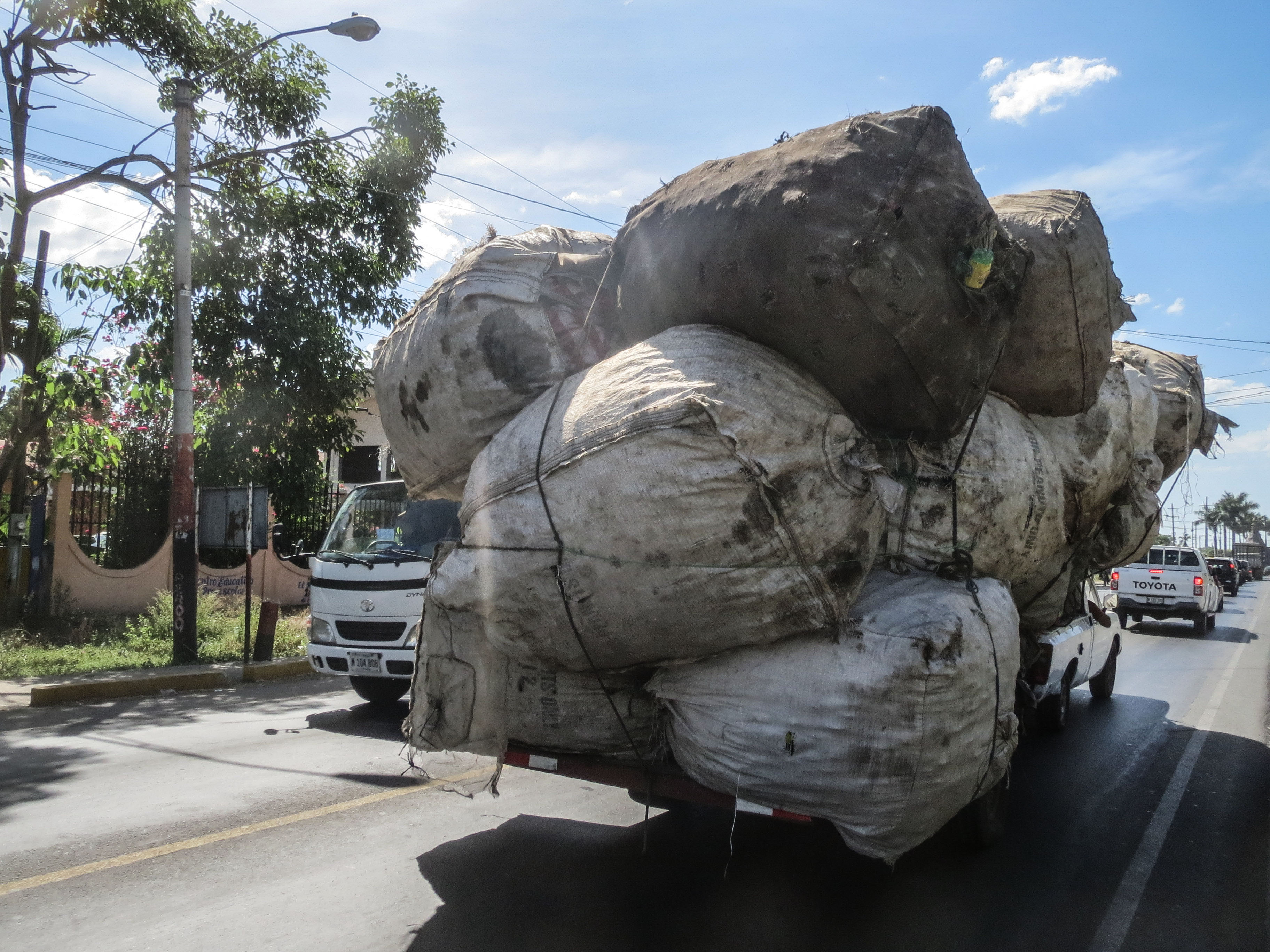Overloaded truck 2