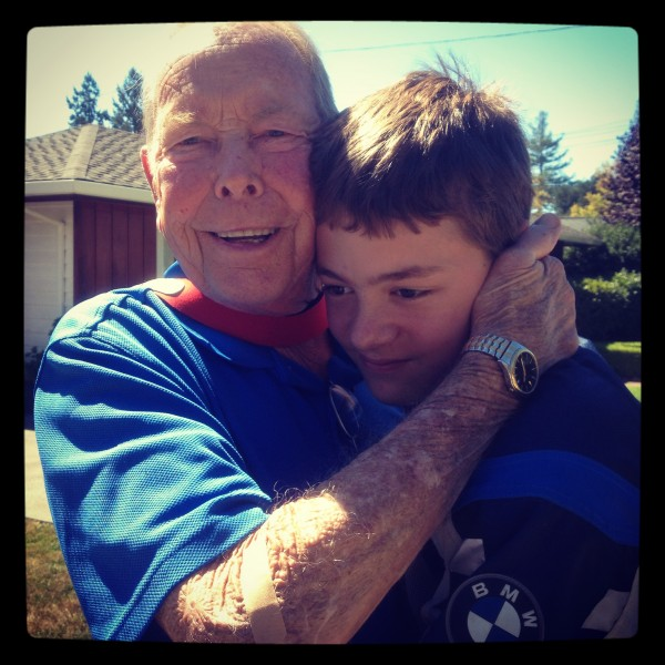 Dad and Jack
