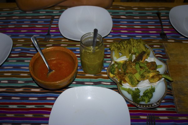 Typical Mayan Dinner